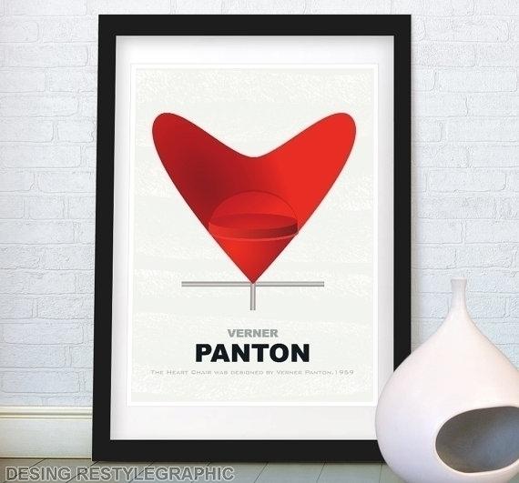 Heart Cone Chair VERNER PANTON  - yaviki | ello