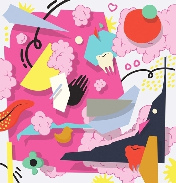 pop, abstract, clouds, geometry - kirakira-1108 | ello