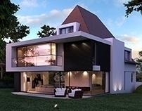 artist impression villa Knokke  - axes-9510 | ello