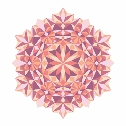Vector Mandala - illustration, graphicdesign - mikhaildrako | ello