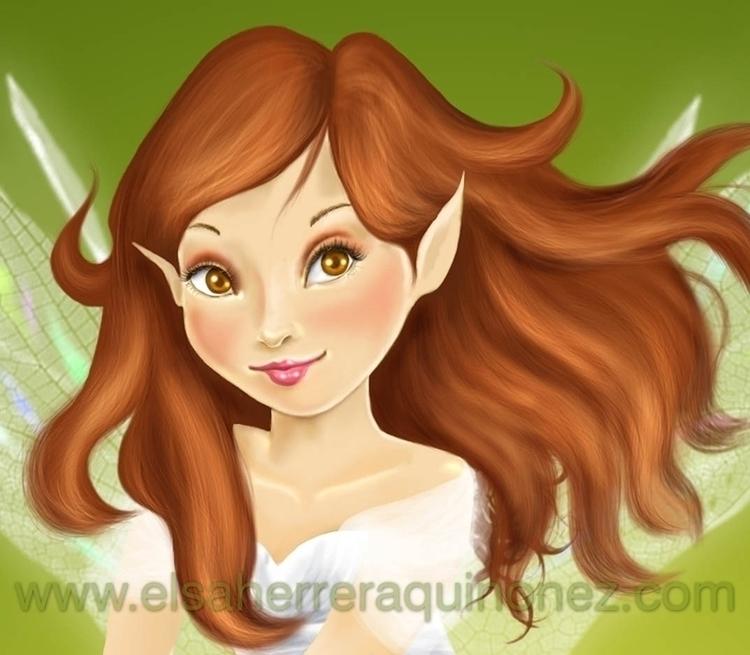 fairy - fantasy - elsa_hq | ello