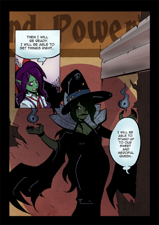 page webcomic wicked - Comics, witches - ariannafahrenkamp | ello