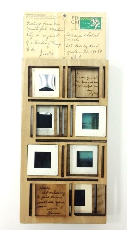 Shared Memories Lasercut wood,  - maggyswaggie | ello