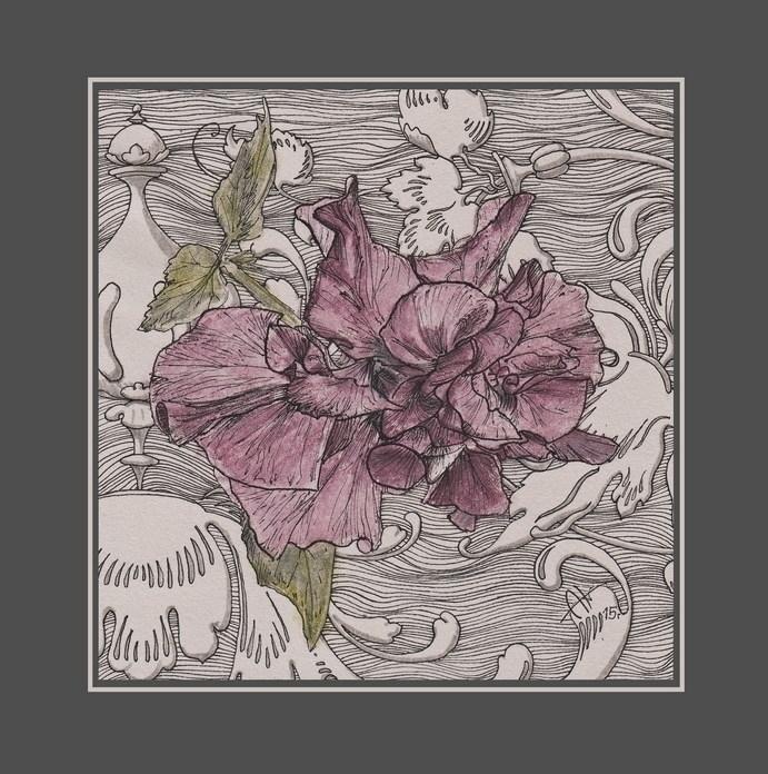 Chinese rose renaissance mood - drawing - barbaroid | ello