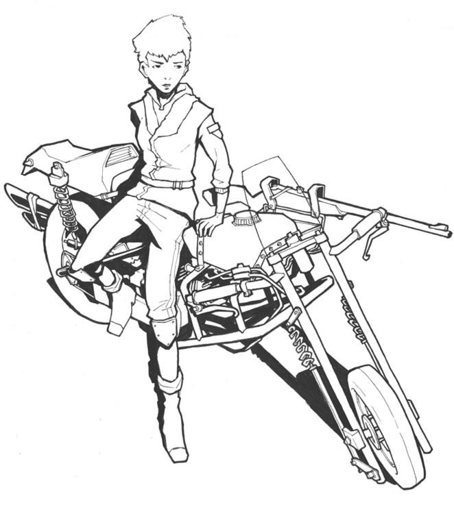 character, sketch - jon-6922 | ello