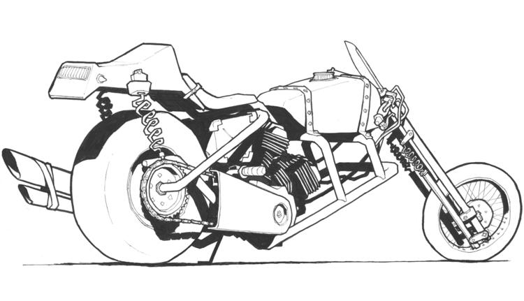 vehicle, sketch - jon-6922 | ello