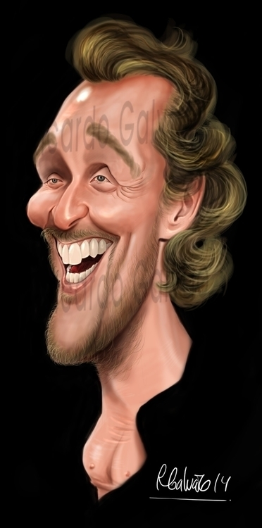 Matthew McConaughey - illustration - rgalvao | ello