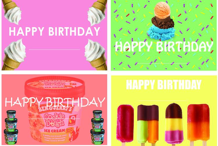 July theme birthday cards - syairahkimmy | ello