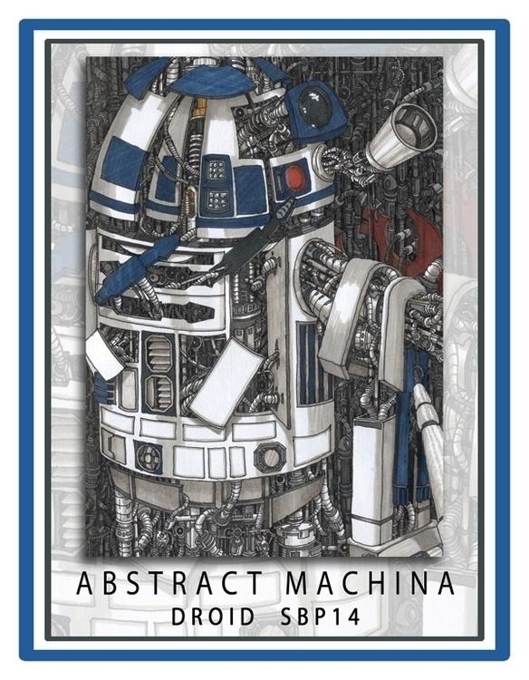 Abstract Machina: SBP14 - Droid - geoartifex   ello