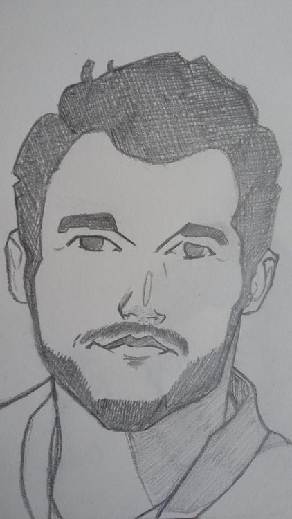 Chris Pratt - illustration, portrait - lhyillustration | ello