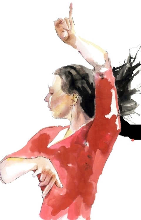 student Flamenco Instructor Ele - ken-1370 | ello