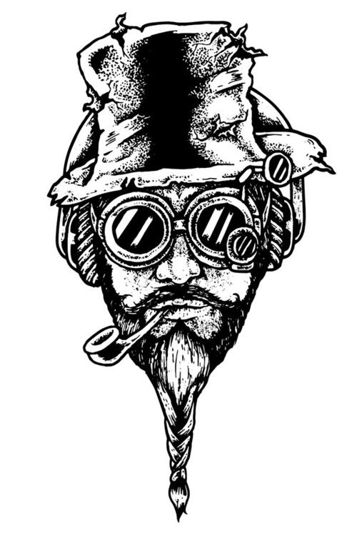 Steampunk Pedro - deadkid0018 | ello