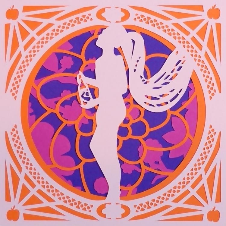 Constance Peach - papercut, burlesque - brittcoxon-9543 | ello