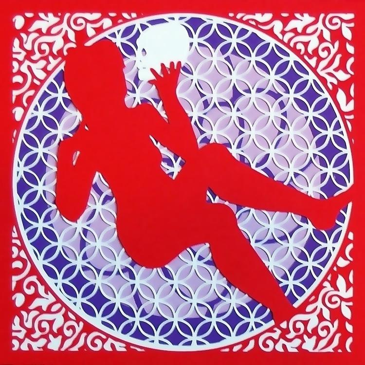 Daria - burlesque, papercut - brittcoxon-9543 | ello