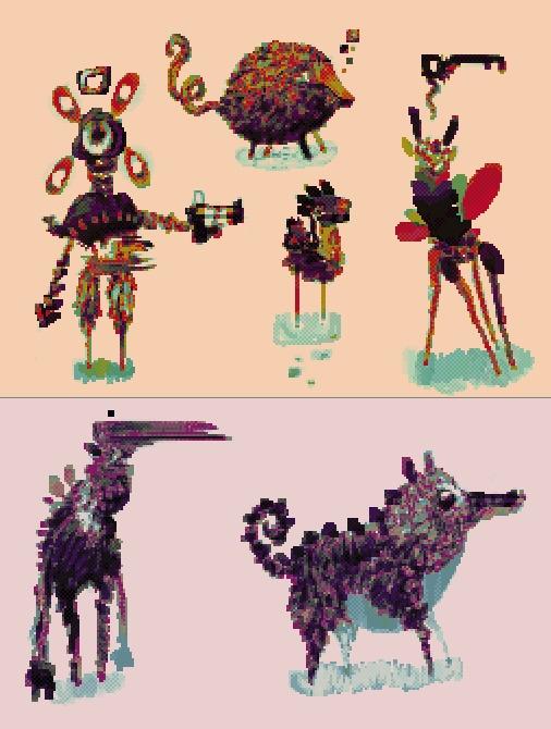 Overworld - pixelart, digitalart - cellusious   ello