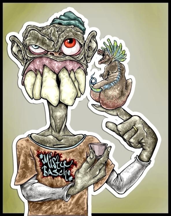 lulu - illustration, characterdesign - misterbascho | ello