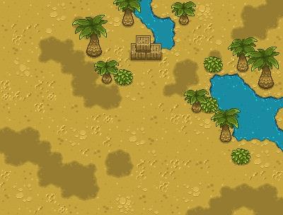 Sand Waves Desert - pixelart, tiles - riestagema | ello