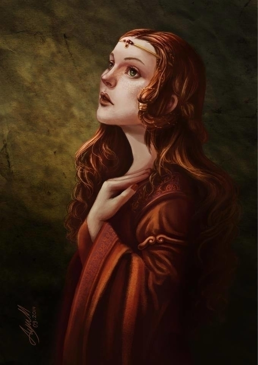 Medieval Woman - ayu-3119 | ello