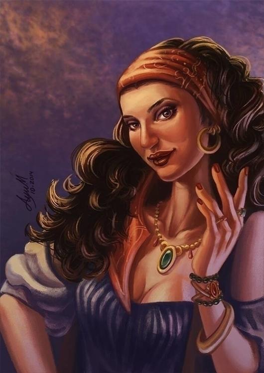 Gypsy Woman - woman, multicultural - ayu-3119 | ello