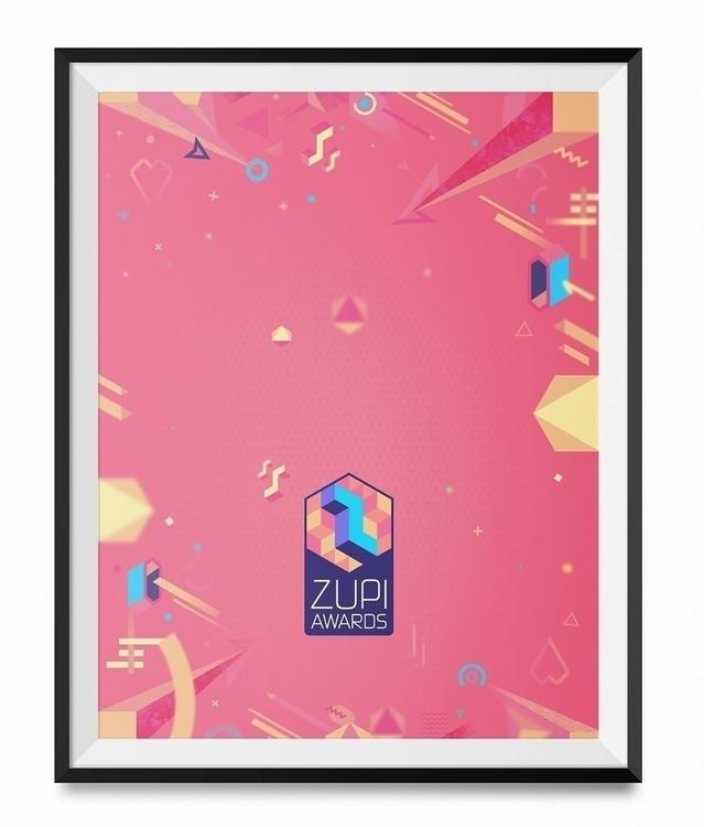 Zupi Awards poster - illustration - marmotavsmilky | ello