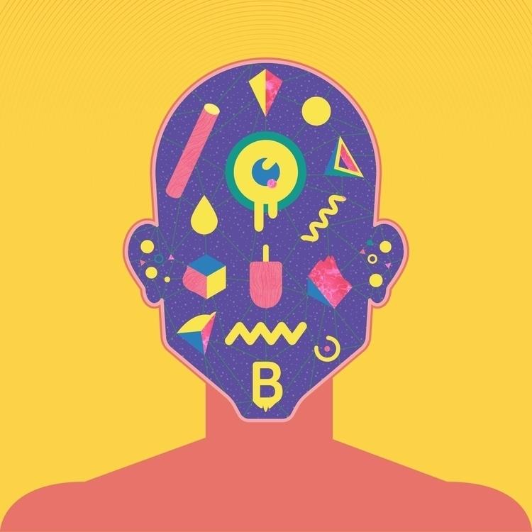 face - illustration, digitalart - marmotavsmilky | ello