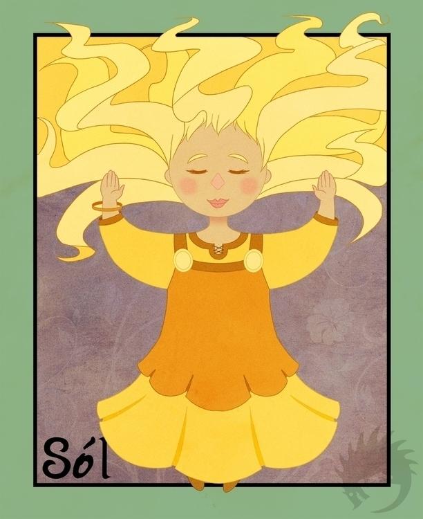 Sol Sunday - illustration, characterdesign - reach-5958 | ello