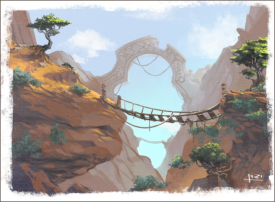 2016 Environment concept sketch - yarongranotart | ello