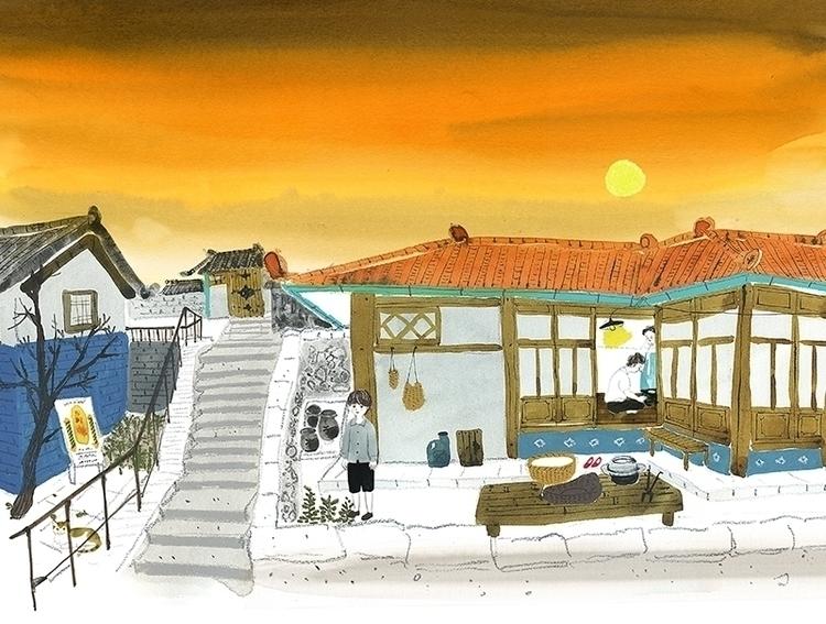 illustration, children'sbook - jungeun-9465   ello