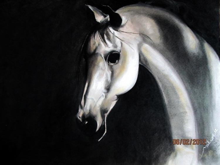 Dry pastel Box-board paper - painting - maheshmitraa | ello