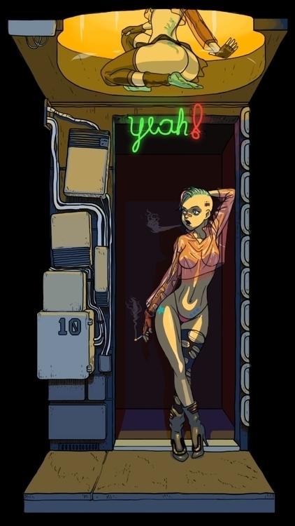 manga, anime, slut, prostitute - fredericoescorsin | ello