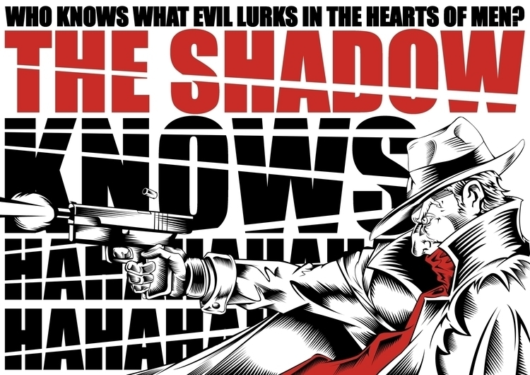 Shadow - illustration, drawing, comics - fbondezan | ello