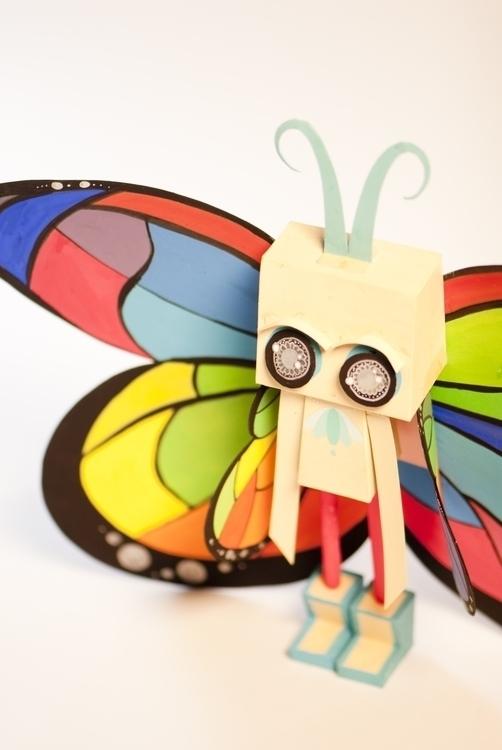 Butterfly - butterfly, papertoy - judynguyen-5846 | ello