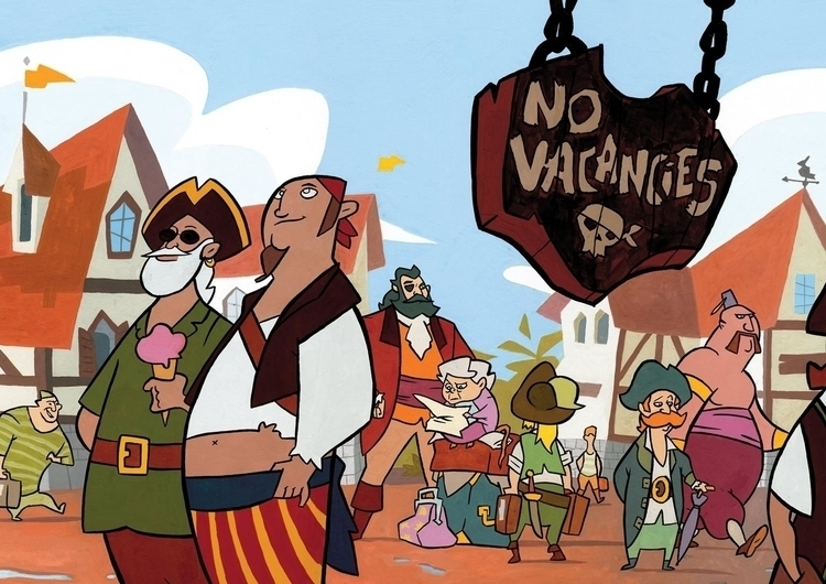 pirates, vacation, icecream - christiansuarez | ello