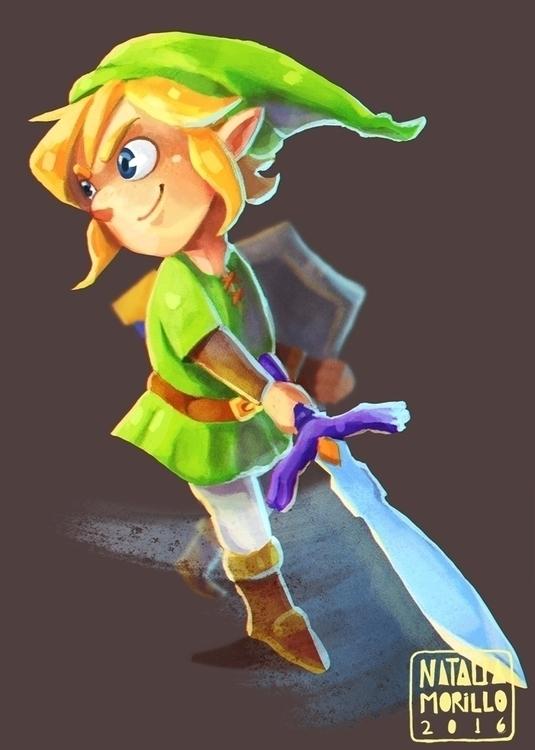 Link Legend Zelda - link, zelda - natarya | ello