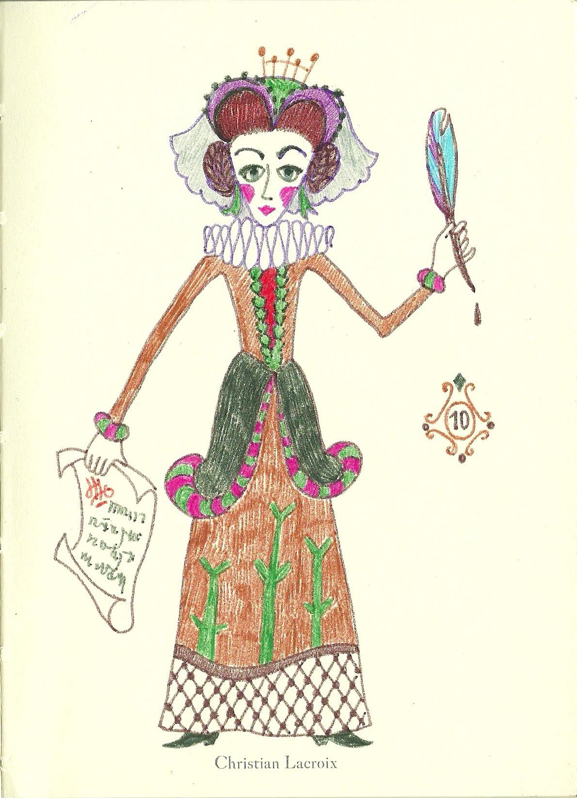 illustration, drawing, fashion - maryana-1117 | ello