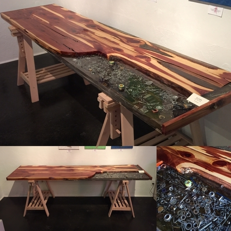 Acrylic Redwood Table/Desk. 24 - kylegolding-1427 | ello