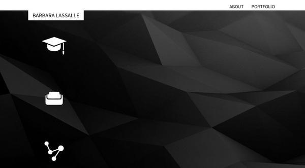 Front page idea online portfoli - sleeplessdesign | ello