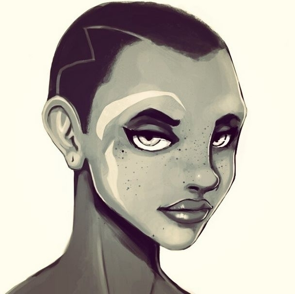 Nefertari - illustration, painting - rikyo | ello