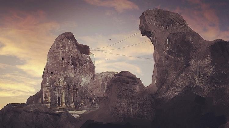Ancient Temple - conceptart, environment - rantart | ello
