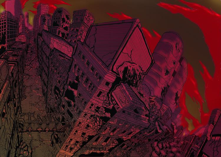 illustration, comics, drawing - cosmickaleidoscope | ello