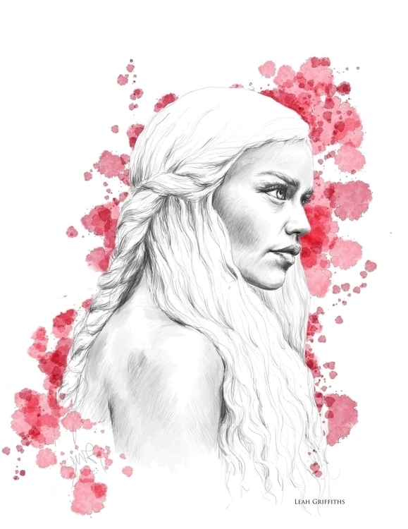 Stormborn. Drawn Corel Painter  - leahgriffiths | ello