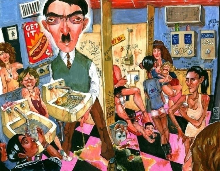 Meninist - illustration, painting - sarajacksonjihad | ello