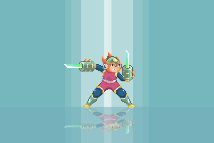 Mega Man Zelda ~ Ganon - pixelart - planckpixels | ello