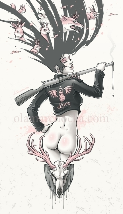 Love Breaker - woman, girl, punk - aleksandracupcake | ello