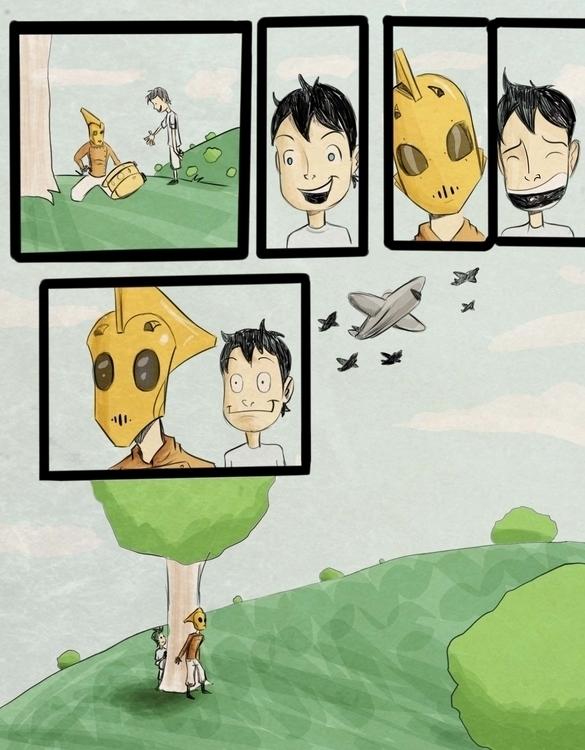 page4 - illustration, painting - ronaldcarmona   ello