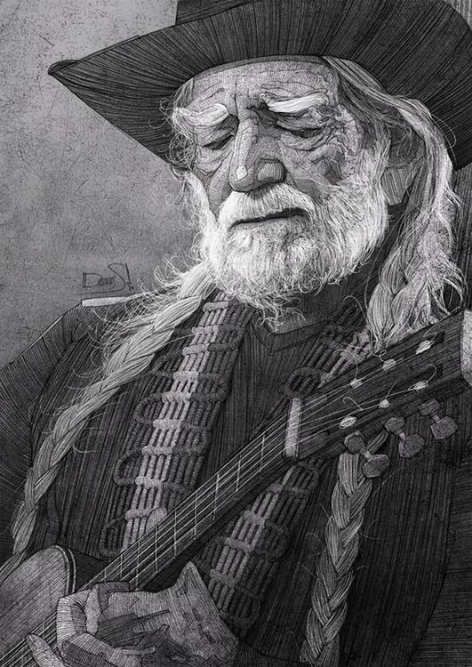 willienelson, guitar, musicians - stdamos | ello