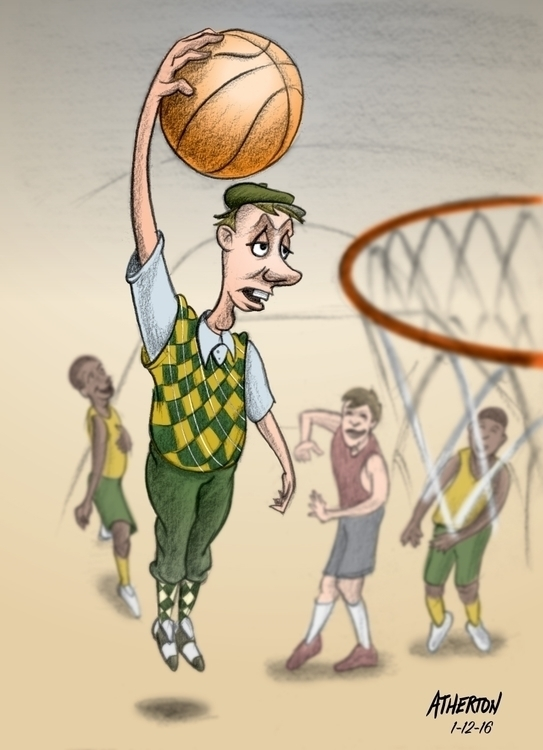 Wrong uniform - basketball, hoops - jimatherton | ello