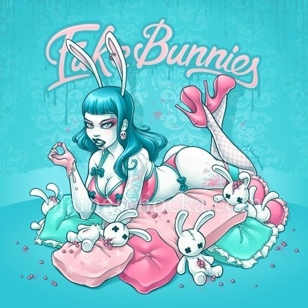 Fake Bunnies - bunny, bunnies, plushies - aleksandracupcake | ello
