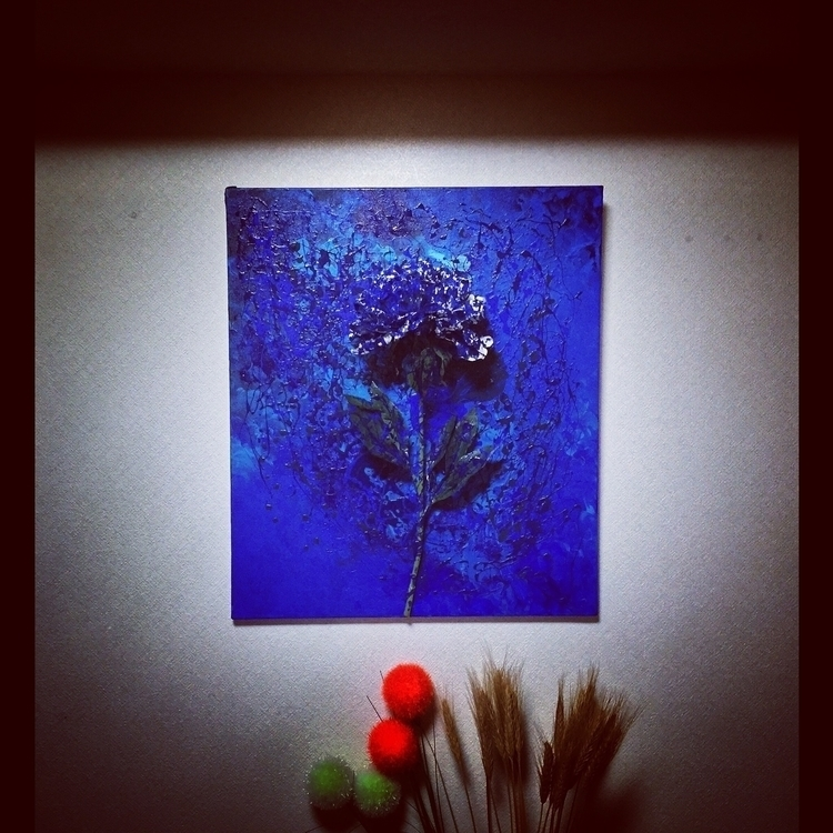 flame 53×45.5cm acrylic Artific - shuntodoroki | ello