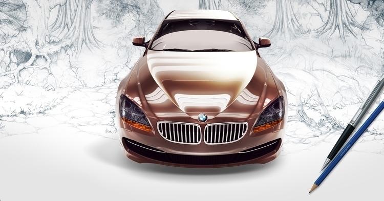 BMW - Printed Ad - bmw, print, ad - davidebianca-4059 | ello